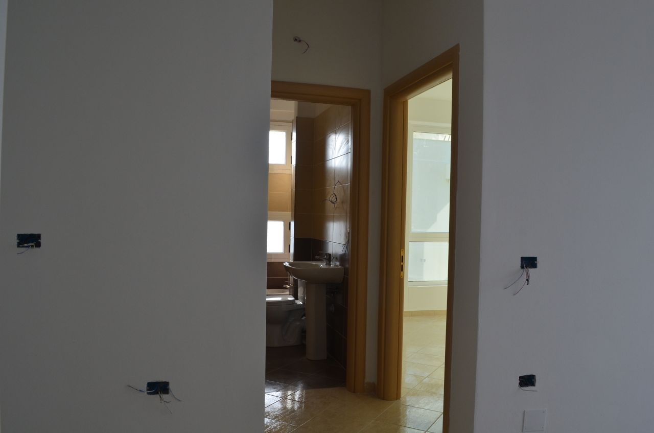Close to the sea and perfect apartment for sale to pass good summer holidays in Radhima beach