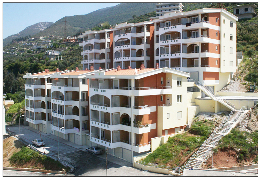 Finished apartments for sale in Vlora, in Albania, close to the Ionian sea.