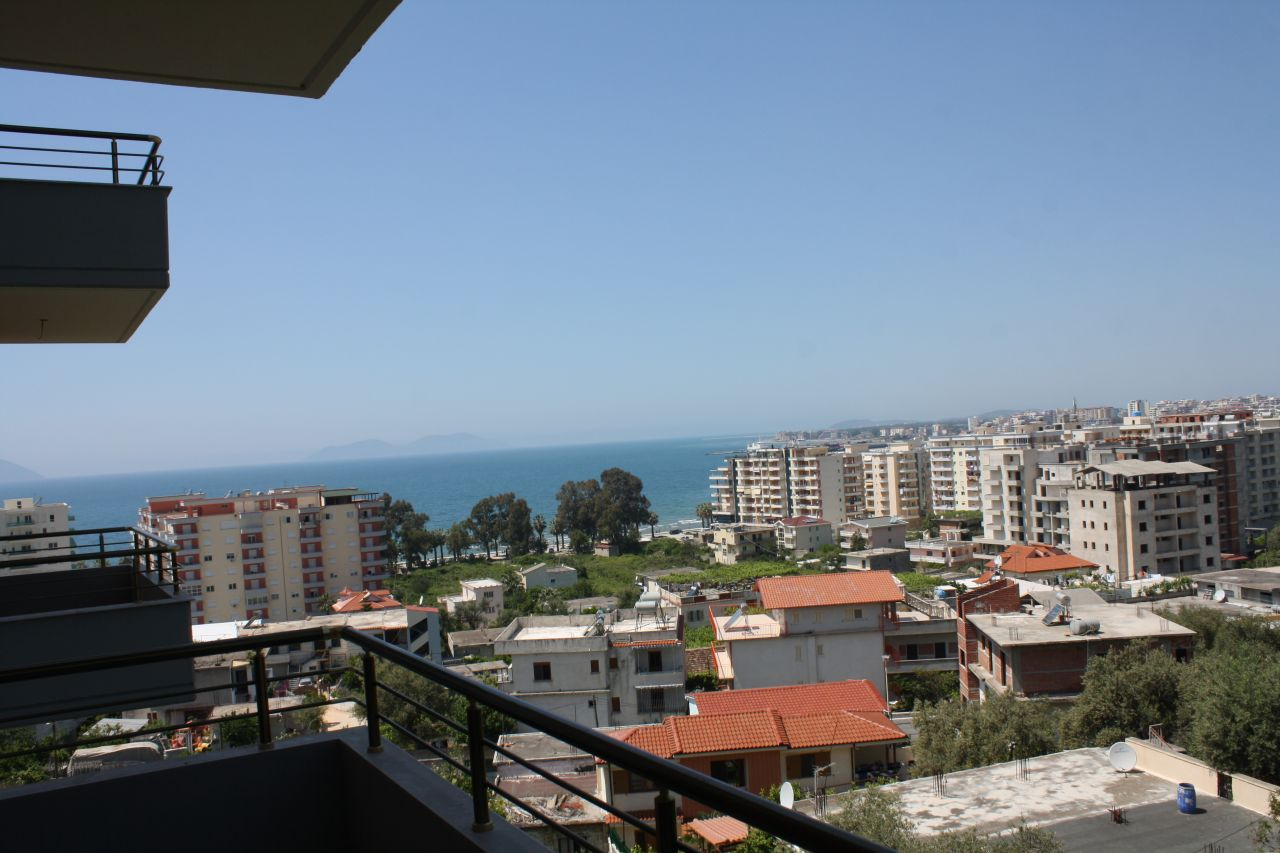 Sea view Studio apartment  for sale in Vlore, Albania.
