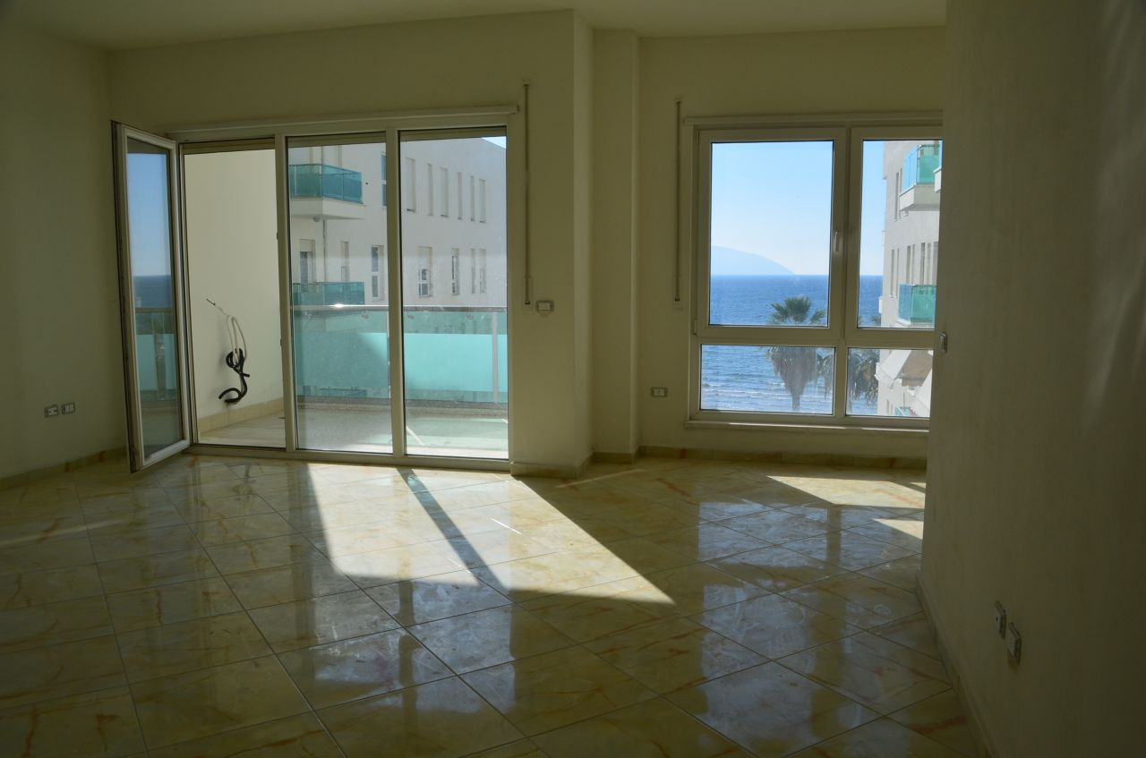 finished apartments in vlora for sale next to the beach in cold water area