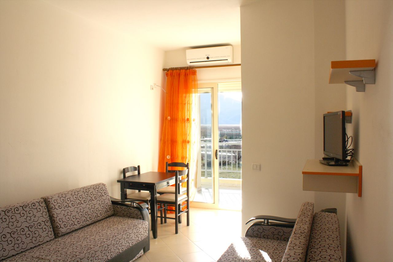 Property in Albania. Orikum. Vlore. Furnished apartment with sea view