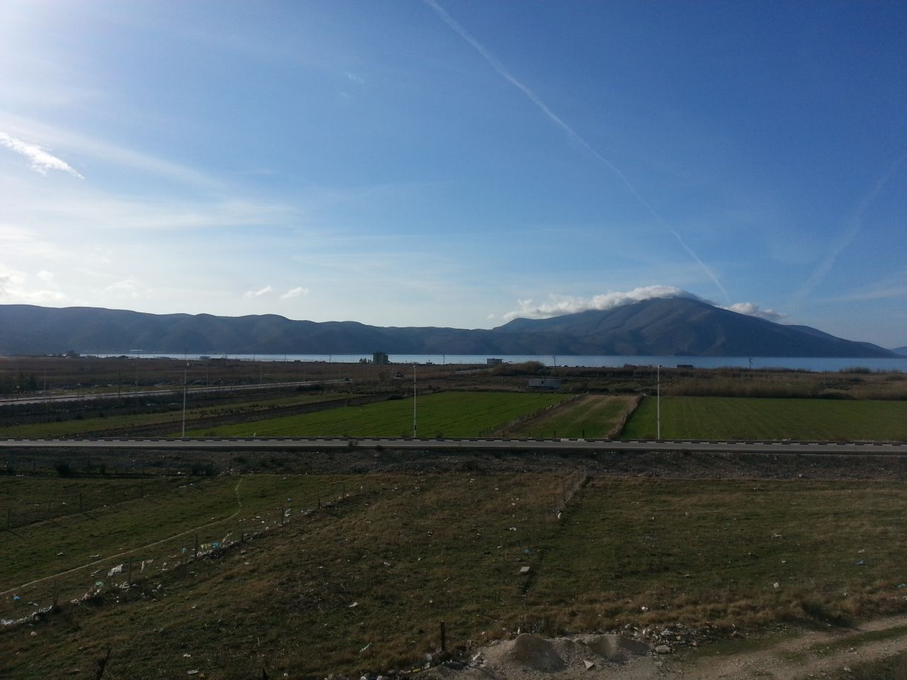 Property in Albania. Orikum. Vlore. Furnished apartment with sea view.