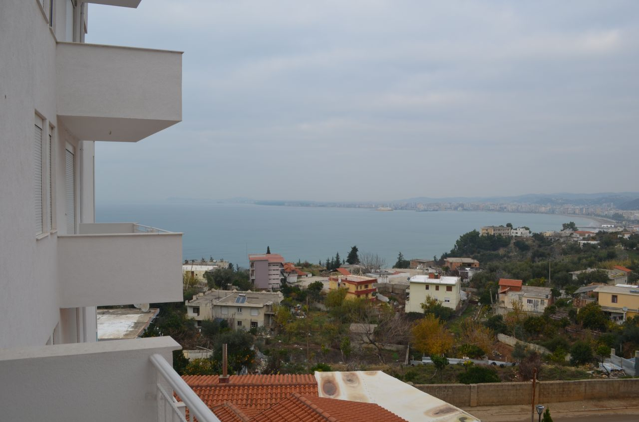 Real Estate in Vlore, Albania. Finished Apartments with sea view. Low Price. Two bedrooms apartment