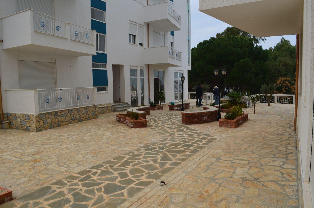 Immobiliare in Vlore, Albania. Appartamenti finiti con vista mare. Prezzo basso.