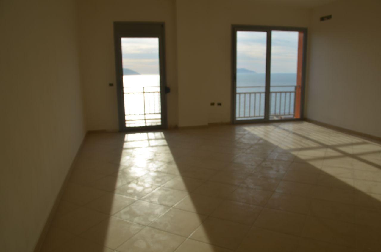 Real Estate in Albania. Sea View Apartment For Sale in Vlore, Albania.