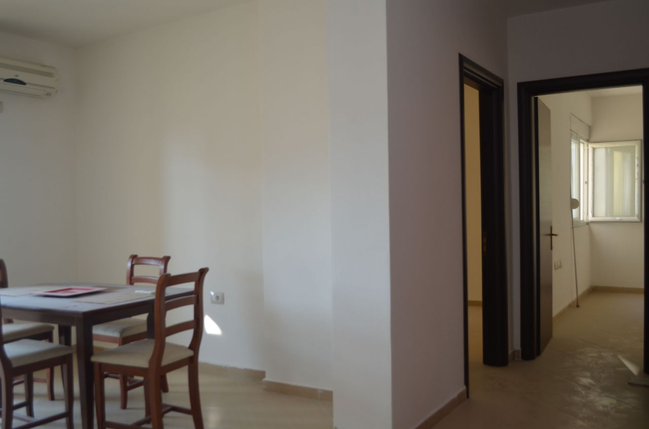 Two bedrooms apartment  for sale in Vlora. Apartment for sale  inside the city  of  Vlora.