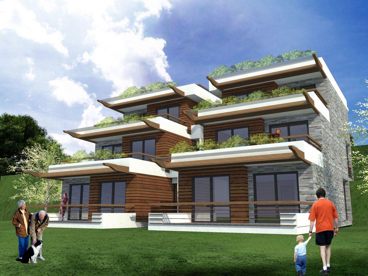 Villa Apartment Complex in Albanian Riviera, Vlore. Sea view Apartment for Sale in Vlore